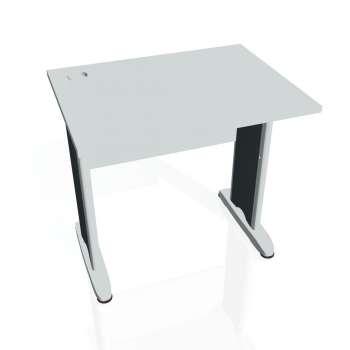 Psací stůl Hobis CROSS CE 800, šedá/kov