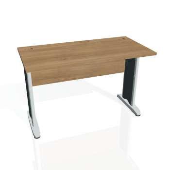 Psací stůl Hobis CROSS CE 1200, višeň/kov