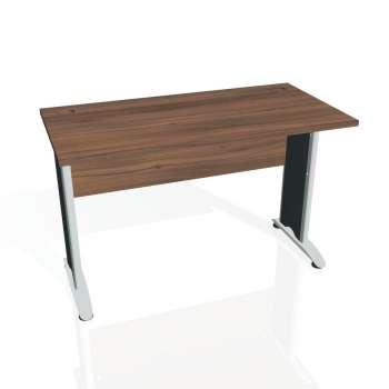 Psací stůl Hobis CROSS CE 1200, ořech/kov