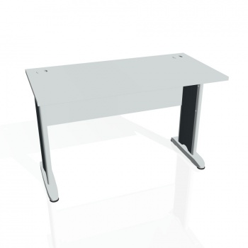 Psací stůl Hobis CROSS CE 1200, šedá/kov
