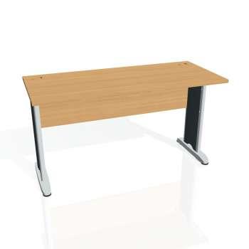 Psací stůl Hobis CROSS CE 1400, buk/kov