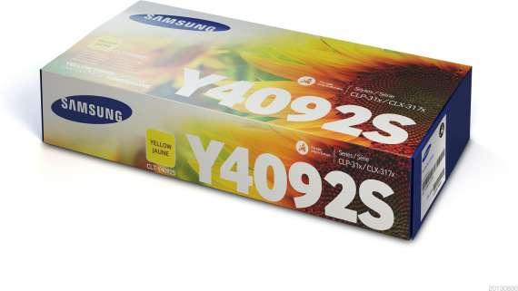 Toner Samsung CLT-Y4092S - žlutá