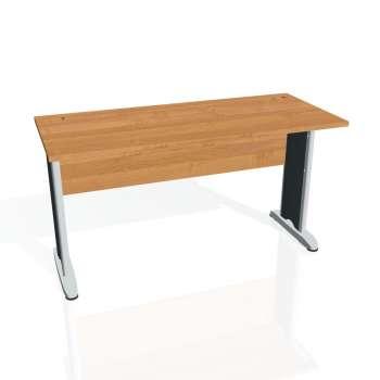 Psací stůl Hobis CROSS CE 1400, olše/kov