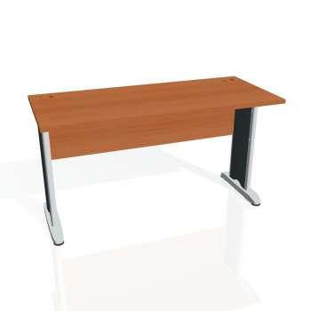 Psací stůl Hobis CROSS CE 1400, třešeň/kov