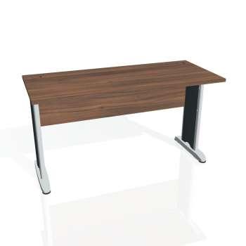 Psací stůl Hobis CROSS CE 1400, ořech/kov