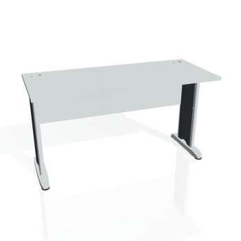 Psací stůl Hobis CROSS CE 1400, šedá/kov