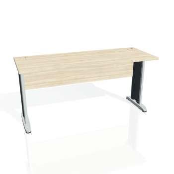 Psací stůl Hobis CROSS CE 1600, akát/kov
