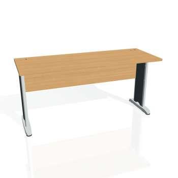 Psací stůl Hobis CROSS CE 1600, buk/kov