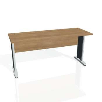 Psací stůl Hobis CROSS CE 1600, višeň/kov