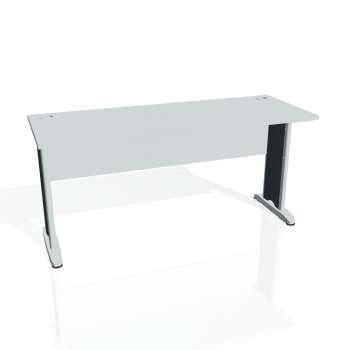 Psací stůl Hobis CROSS CE 1600, šedá/kov