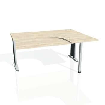 Psací stůl Hobis CROSS CE 60 levý, akát/kov