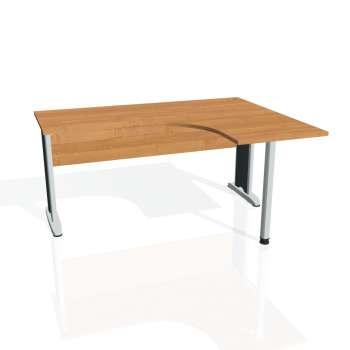 Psací stůl Hobis CROSS CE 60 levý, olše/kov