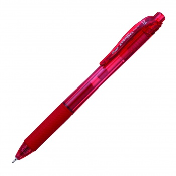 Gelový roller Pentel Energel X - červený, 0,5 mm