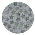 Plechový dekorační talíř - hvězdy, 33cm