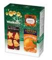Dárková sada Pomeranč (čaj+džem+sušenky), 213 g