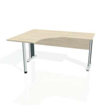 Psací stůl Hobis CROSS CE 60 pravý, akát/kov