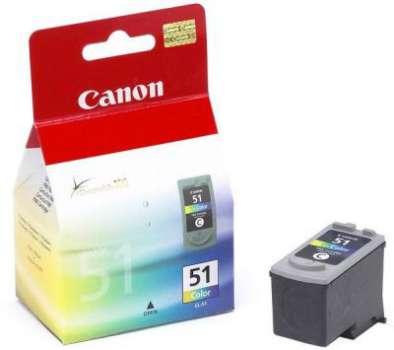 Cartridge a tisková hlava Canon CL-51 - tříbarevná