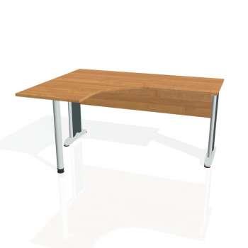 Psací stůl Hobis CROSS CE 60 pravý, olše/kov