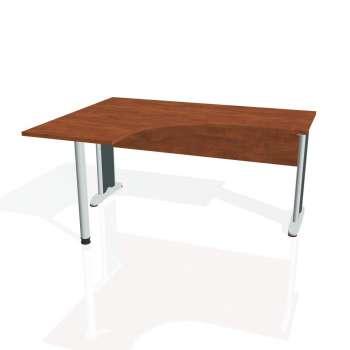 Psací stůl Hobis CROSS CE 60 pravý, calvados/kov