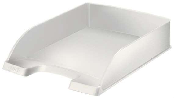 Zásuvka LEITZ STYLE - A4, plastová, arkticky bílá