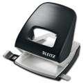 Děrovačka Leitz Style NeXXt  5006 - 30 listů, kov, saténově černá