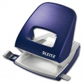 Děrovačka Leitz Style NeXXt  5006 - 30 listů, kov, titanově modrá