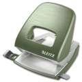 Děrovačka Leitz Style NeXXt  5006 - 30 listů, kov, zelenkavá