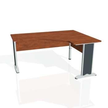 Psací stůl Hobis CROSS CEV 60 levý, calvados/kov