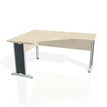 Psací stůl Hobis CROSS CEV 60 pravý, akát/kov