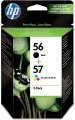 Cartridge HP SA342AE, č. 56/57 - černá, 3 barvy