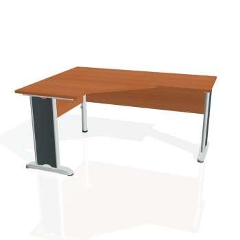 Psací stůl Hobis CROSS CEV 60 pravý, třešeň/kov