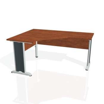 Psací stůl Hobis CROSS CEV 60 pravý, calvados/kov