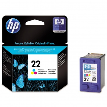 Cartridge HP C9352AE/22 - tříbarevná