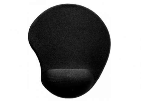 Gelová podložka pod myš - černá