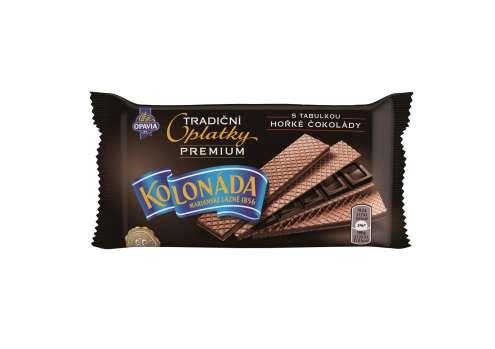 Premium Kolonáda oplatky - hořká čokoláda, 92 g