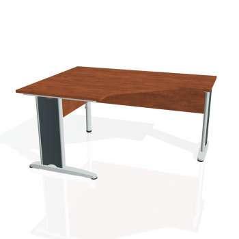 Psací stůl Hobis CROSS CEV 80 pravý, calvados/kov