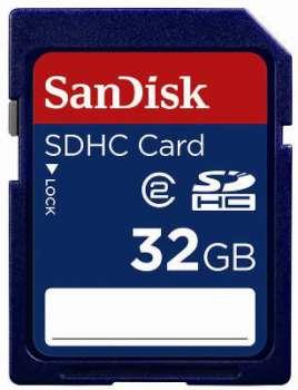 Paměťová karta Sandisk SDHC - 32 GB