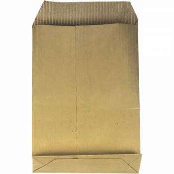 Tašky obch. B5, kříž. dno, textil. v., samolep., 10ks