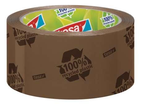 Balicí páska Tesa Eco & Strong - 50 mm x 66 m, hnědá