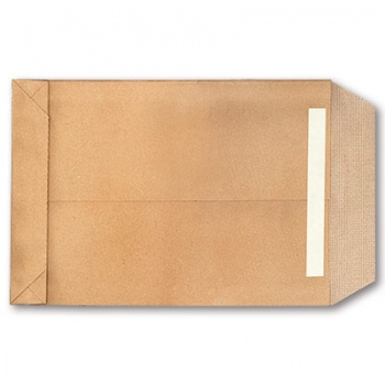 Tašky obch. B5,kříž.dno,textil.v.,samolep.,100ks