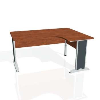 Psací stůl Hobis CROSS CE 2005 levý, calvados/kov
