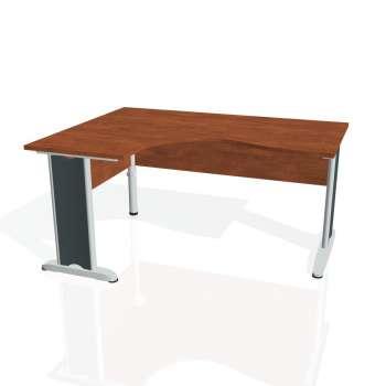 Psací stůl Hobis CROSS CE 2005 pravý, calvados/kov