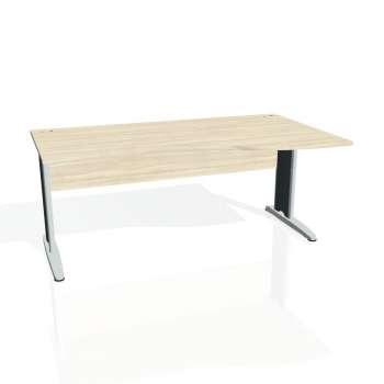 Psací stůl Hobis CROSS CE 1000 levý, akát/kov