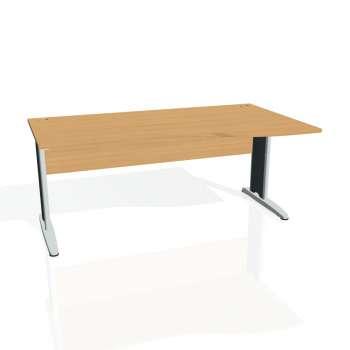 Psací stůl Hobis CROSS CE 1000 levý, buk/kov
