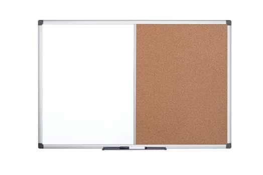 Tabule kombinovaná Office Depot 120 x 90 cm - hliníkový rám