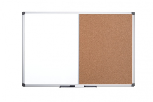 Tabule kombinovaná Office Depot - 90 x 60 cm, hliníkový rám