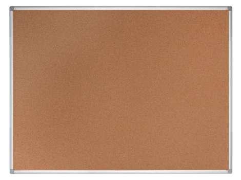 Korková nástěnka Office Depot - 90 x 60 cm, hnědá, hliníkový rám, ekologická