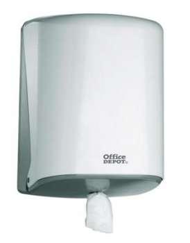 Zásobník na ručníky v rolích Office Depot - plastový, bílý