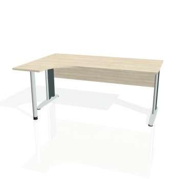 Psací stůl Hobis CROSS CE 1800 pravý, akát/kov
