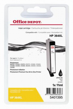 Cartridge Office Depot HP CB322EE/364XL - černá